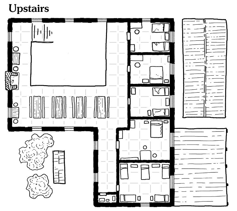 Firststop Inn in Dolfar - first floor