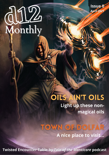 d12 Monthly Issue 0 Cover