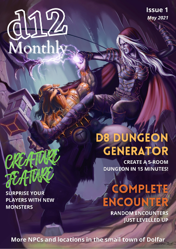 d12 Monthly Issue 1 Cover