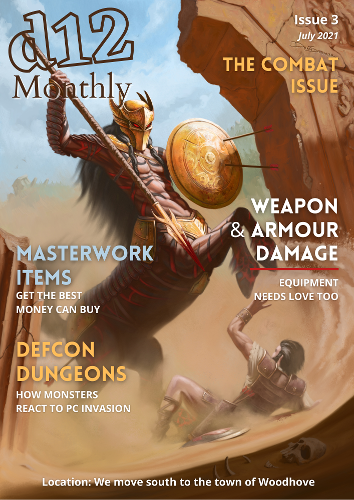 d12 Monthly Issue 3 Cover