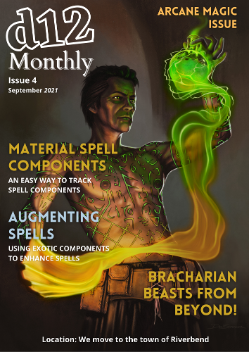 d12 Monthly Issue 4 Cover