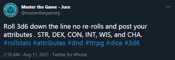 Twitter Post by Juce