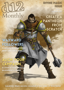d12 Monthly Issue 5 Cover Small